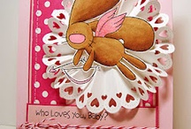 All About Love / Love and Valentine cards and projects using The Cat's Pajamas Art Stamps and CutUps dies. / by The Cat's Pajamas