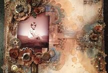 Mixed Media Projects / Creative and inspirational mixed media and art journaling projects that we love at Chook Scrpas.