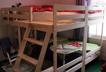 Loft bed ideas / DIY and IKEA hack