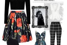 inverted triangle outfits