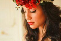 Bridal- Hair / Bridal hair flowers inspiration