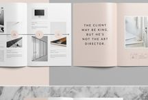 Graphic design pages