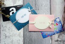 Gift card holder made by Willowpiggy
