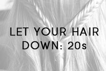 #LetYourHairDown: 20s / Our Let Your Hair Down campaign is bringing together people of all ages for a six-month healthy hair challenge! #LetYourHairDown