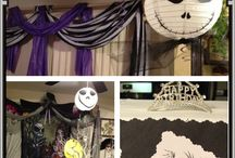 Brittany's 18th Nightmare before christmas party / Brittany's birthday party / by Pam Fadden