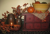 primitive decor / by Edith Troyer