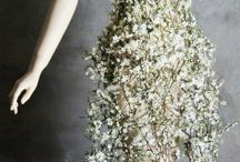 vestidos de novia en flores