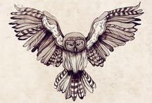 Tattoo, owl