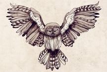Tattoo, owl