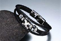 +#Absolut Trendy Armband Echtes Leder i Schwarz Neu  11,90 Euro VB