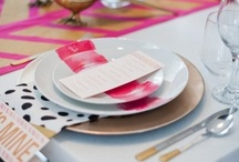 Tablescapes / Table Settings & Dinnerware