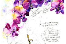bunga anggrek_doodle