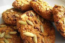 galletas de avena y zanohoria con frutos secos -baja colesterol