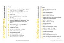 Pre-K/Kindergarten Readiness / by Nique Crump