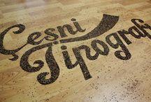 Spicy Typography / Çeşni Tipografi - http://www.behance.net/gallery/Cesni-Tipografi/10354441