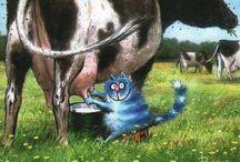 серия синие коты