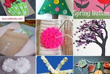 Button Crafts & Ideas / I love buttons and I am forever HOARDING them. We have all sorts of buttons - old buttons, new buttons, kids buttons, vintage buttons.. time for some button crafts & ideas!