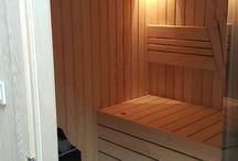 sauna / sauna sobası
