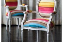 Chic chairs / Rainbow chairs
