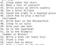 Lists Of Life