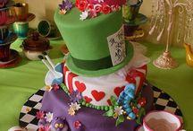 mad hatter/Alice in wonderland inspired