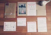 PAPETERIE / Mes inspirations papéterie - faire-part - menus...