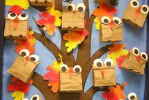 podzim strom sovy