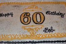 60th Birthday Party / milestone birthday party ideas / by Pamela Shank