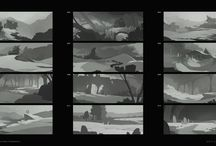 Digital art Environment thumbnails
