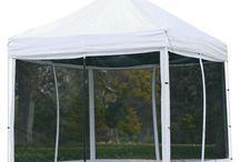 tents / by Kathryn Pitt