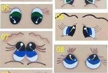 Occhi come colorarli
