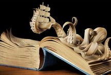 White Mint | Amazing Book Art / Wonderful things you can do with books.