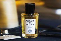 ACQUA DI PARMA / Acqua di Parma a été fondée en 1916 avec la célèbre Colonia. La philosophie de la marque est basée sur la qualité, l'artisanat et l'élégance.