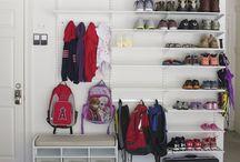 Vestibules - storage