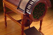Instrumentos musicales raros.