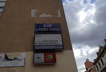 Plaques de rues de la Croix-Rousse