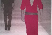 Modelo / Diferentes trajes para un mismo modelo sacados con diferentes fondos.