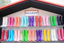 Hunter boots / by Lily Fleming