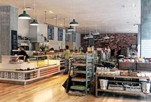 Great Food Stores & Cafe Spaces
