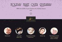 Holiday Salon Promotion / HairVenture Salon Holiday Promotion