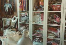 Craft Room / #sewingroom #craftroom #artsandcrafts #handmade #interiordesign