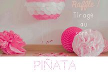 Win a Beautiful Handmade Piñata! Enter our Raffle, Sorteo, Tirage au Sort! / Look on our Facebook page to enter this exciting competition: www.facebook.com/hiphiphurraybarcelona
