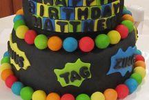 Ryan's birthday cakes