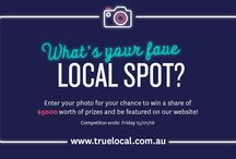 Capture.Share.Win Competition / Enter your photo for your chance to win a share of $5,000 worth of prizes and be featured on our website!  Do you have a photo of your local you want to share with us? http://trueloc.al/CaptureShareWin  For T&C's: http://trueloc.al/TCsPhotoComp