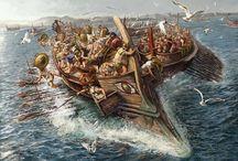 Lade island battle