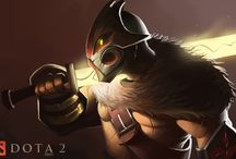 Dota 2 Fan Art / Fan Art Collection for both Dota and Dota2 / by DOTA2ARTS