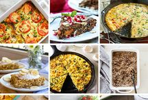 Healthy Breakfast / Healthy breakfast foods to start your day right! Oats | Granola | Eggs | Muffins | Waffles & more