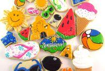 Cookies - Summer / Luau / by Tara Breitner Lethbridge