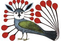 이누이트부족의 미술 / 아름다운 이누이트