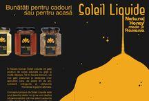 Brochure / Despre Soleil Liquide  Soleil Liquide este un concept creat cu gândul la tine şi datorită acestui fapt dorinţele tale sunt foarte importante pentru noi. De aceea, vom asculta atent ideile şi nevoile tale şi vom realiza împreună cel mai potrivit produs marca Soleil Liquide astfel încât să îţi oferim o experienţă de neuitat.